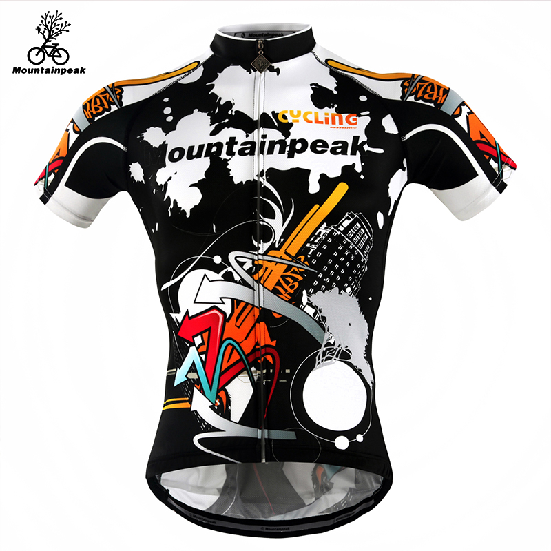Mountainpeak Thin Short Sleeved Shirt Male Summer Riding Service Mountain Bike Cycling Equipment Breathable Perspiration arsuxeo