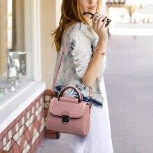 Viney 가방 소녀 2019 새로운 정품 가죽 가방 핸드백