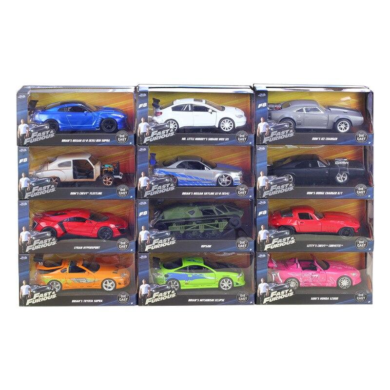 1:24 JADA jouets film rapide et furieux 8 moulé sous pression voiture jouet voitures