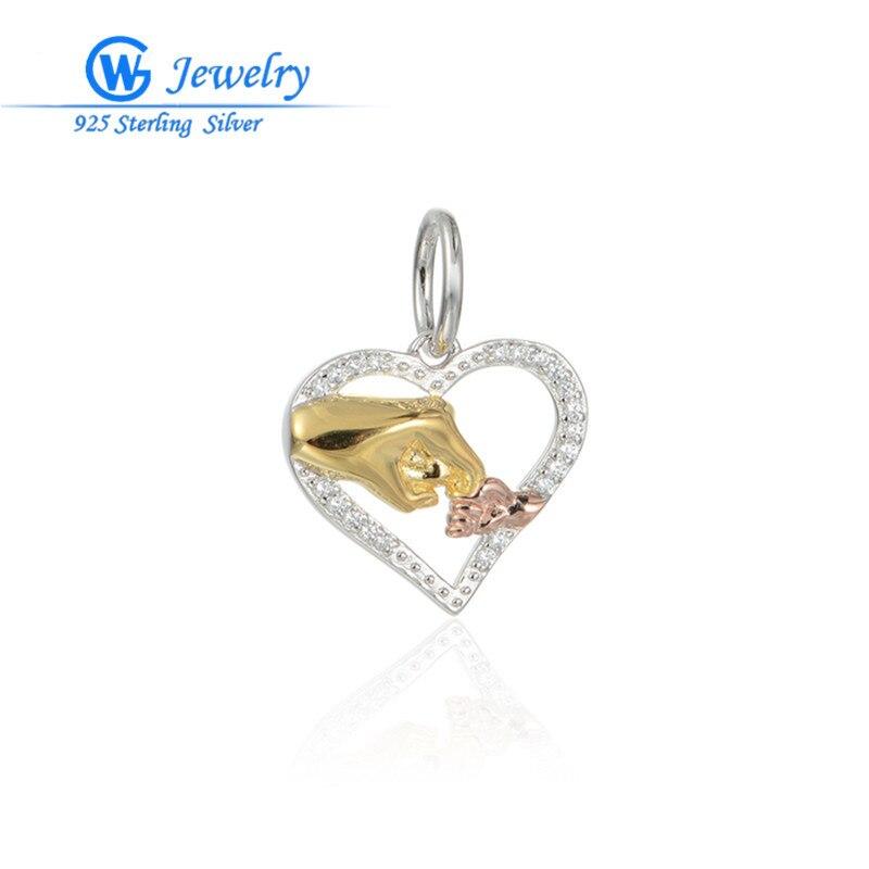 bd4dd0ac47eb Pingentes para pulseira 925 del encanto para la joyería de la boda amor fit  pulsera GW moda joyería S192H30