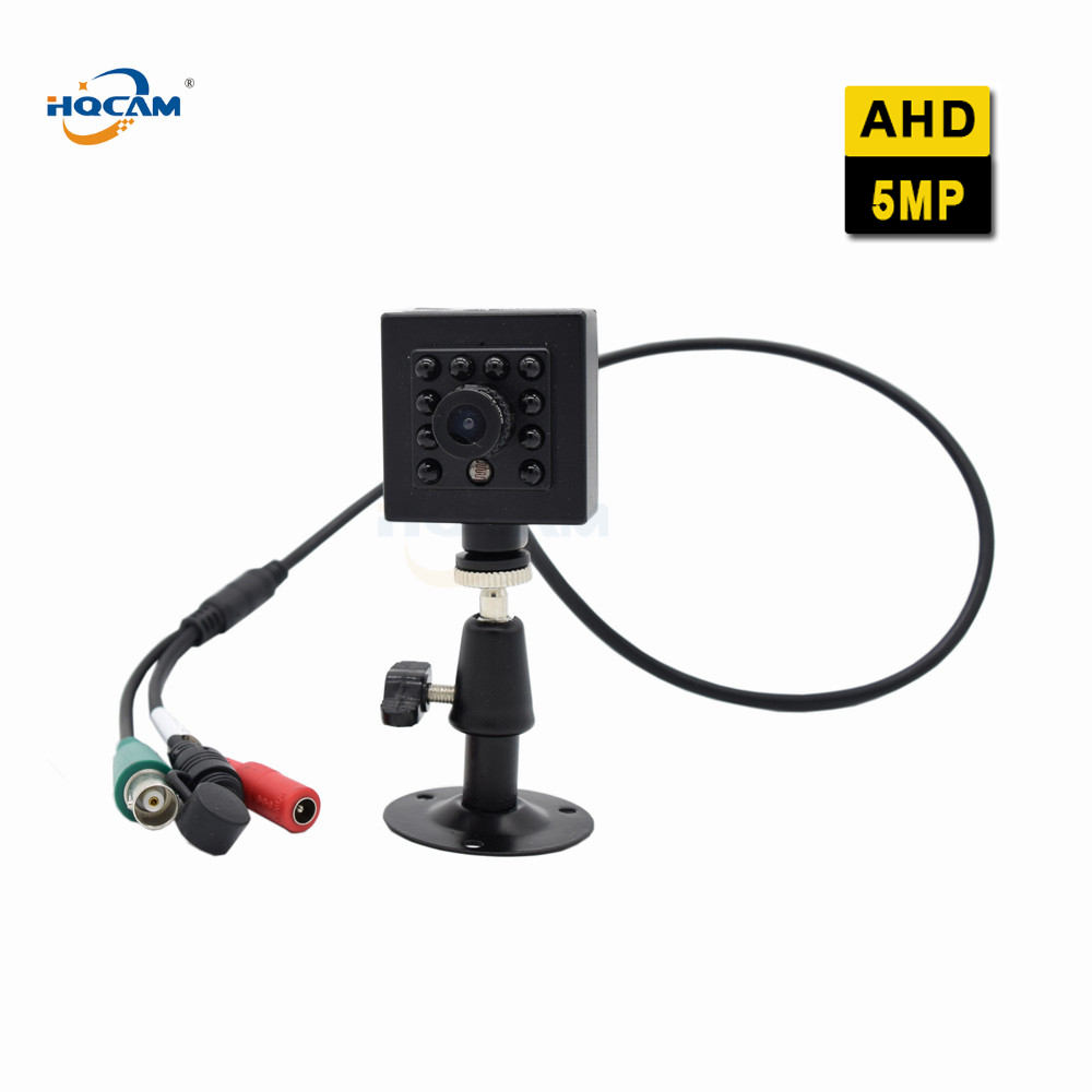 HQCAM 5.0MP Infrared Night Vision Camera car Indoor Security AHD Camera DIP Switch 4 IN 1 AHD 5MP/4MP,TVI5MP/4MP,CVI4MP,CVBS tlp627 1 dip 4 p627
