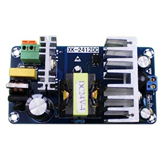 THGS 2pcs 24V Switching Power supply Board 4A 6A high power module bare board AC-DC Power supply Module Blue l9110s 2 ch motro driving board module deep blue