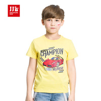 2017 summer new CHAMPION letter print boys short sleeve summer t shirt boys tshirt cool car print teenager