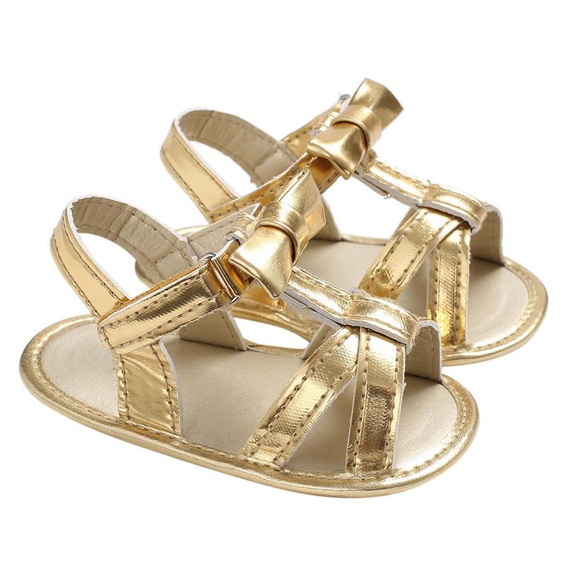 Summer Baby Kids Girl Crib Toddler Newborn Shoes First Walker A84L78
