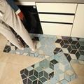 Качественные кухонные ковры  кожаные напольные коврики из ПВХ  большие напольные ковры  коврики для дверей  водонепроницаемые маслостойкие...