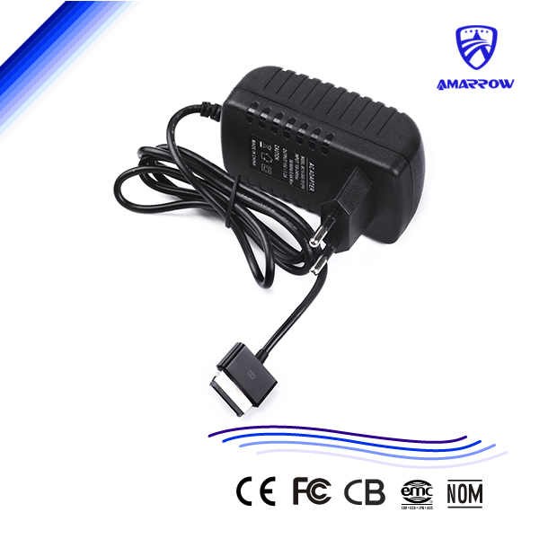 Free Shipping 15V 1.2A AC Adapter Charger for ASUS Eee Pad TF101 TF201 TF300 TF700 Tablet