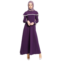 2017 Turkish Women Abaya Clothing Muslim Dress Islamic Clothes Fashion Robe Musulmane Sunday Dresses Dubai Kaftan