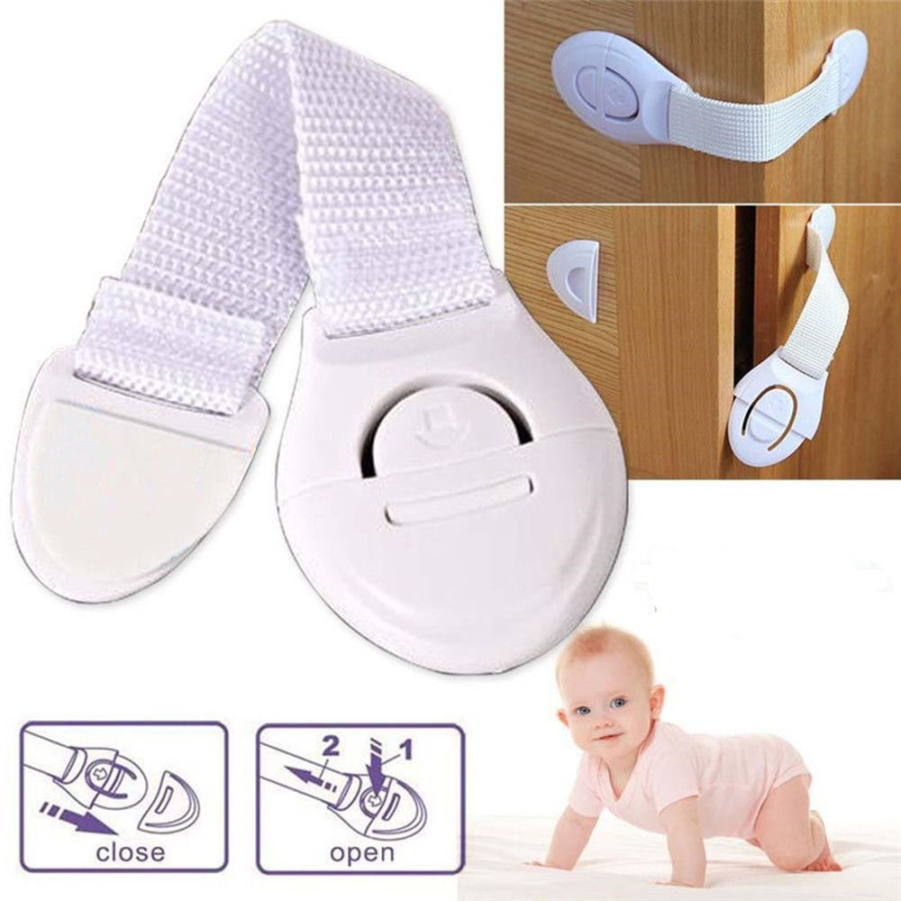 30/20/5PCS Window Door Stopper child lock Drawer refrigerator Lock bendy protection on windows door drawer security baby Safety 5pcs child safety plastic lock kid for cabinet door drawer refrigerator protecting baby