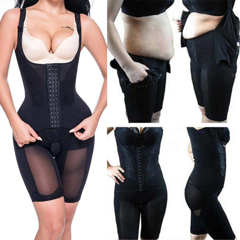 fe64db3db2e ... Miss Moly Full Body Shaper Modeling Belt Waist Trainer Butt Lifter  Thigh Reducer Panties Tummy Control ...