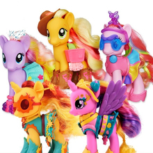 My Little Pony One Pcs Figure Neck Rotatable Toy Princess Gi