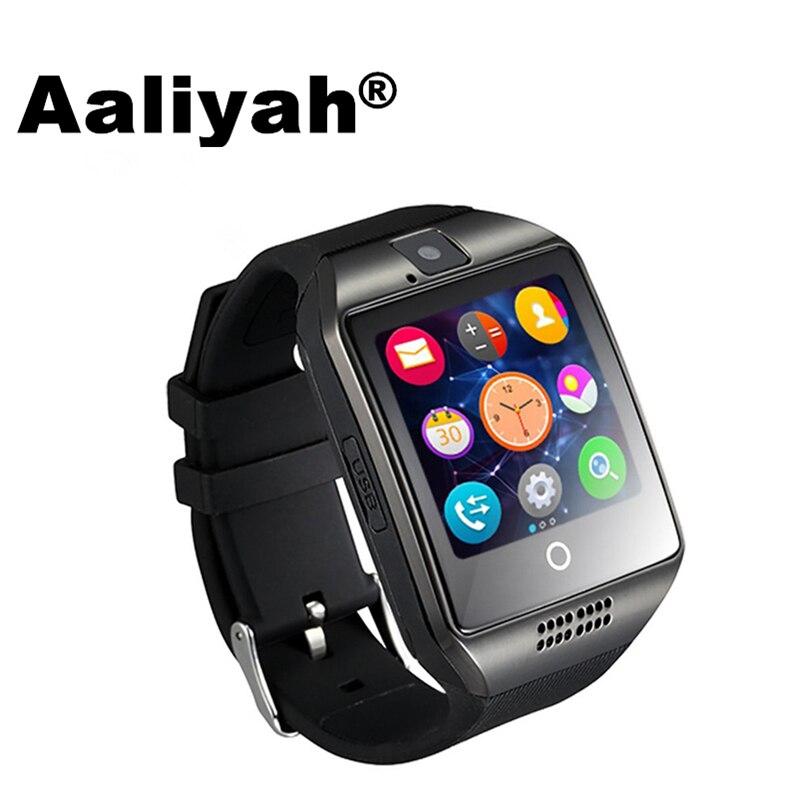imágenes para [Aaliyah] moda Hombre Mujer Inteligente Acecha Para Android IOS Apoyo TF Tarjeta de 32 GB Inteligente Electrónica Reloj Inteligente Monitor de Salud