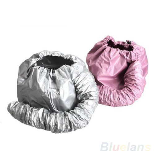 Hot Selling Home Portable Soft Hood Bonnet Attachment Haircare Salon Hair Dryer Random Color