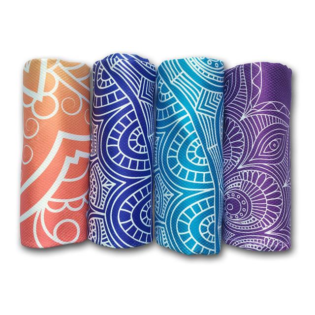 Classic Mandola Yoga Towel 183*65 Diamond Texture Non Slip Portable Travel Yoga Mat Towel Mat Cover Pilates Fitness Yoga Blanket