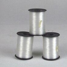 Горячая швейная нить, нейлоновая шелковая нить, набор прозрачных шелковых нитей небольшого объема, прочные швейные нитки, изделие ручной работы, линия LC
