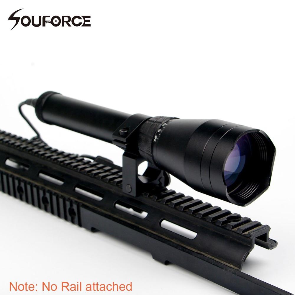 조정 야간 녹색 도트 ND3x50 영하의 녹색 레이저 지정자 줌이 가능한 W/범위 마운트 소총 사냥