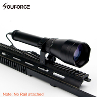 Adjustable Night Vision Green Dot ND3x50 Subzero Green Laser Designator Zoomable W/Scope Mount for Rifle Hunting
