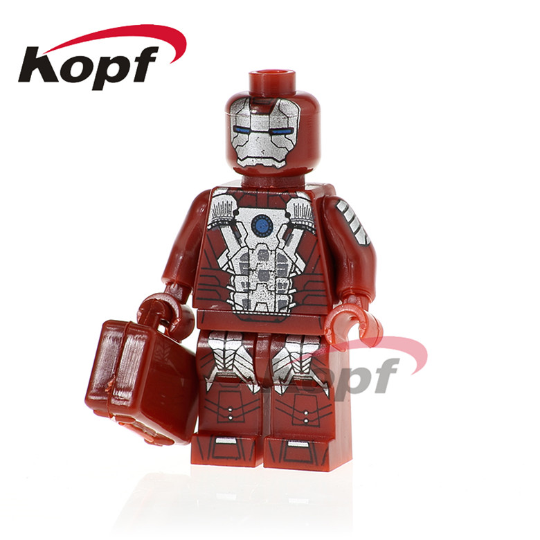 PG333 Building Blocks Iron Man Guardian Joe Reverse Flash Punisher Super Heroes Bricks Best Collection For Children Toys Gift