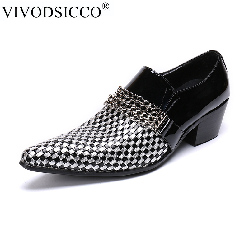 VIVODSICCO Brand High Quality Men Oxford Men Leather Dress Shoes Fashion Business Men Shoes Men Dress Pointed Shoes Wedding shoe adult helmets for harley motorcycle retro half cruise helmet motorcycle helmet vintage german motorcycle moto