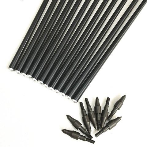 12 pces misturado carbono seta 26 27