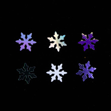 1 Box Snowflakes Slices Nails Glitter Decorations AB Flakes Sequins Paillette Spangles 3D Nail Art Tips Accessories JIDX01-06
