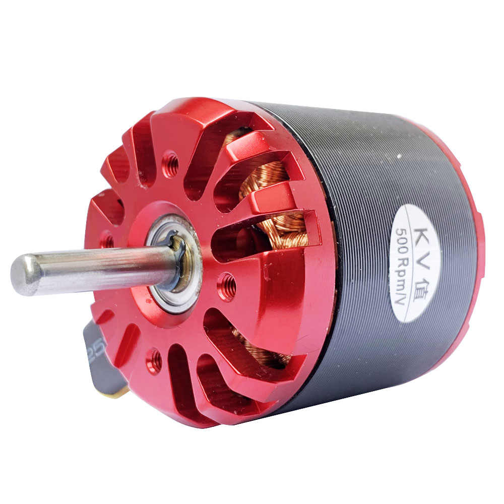 1 PC 4250 Swiss Motor Brushless To Outrun DC Motor Kuat Power Supply 500KV Torsi Besar Rotor Eksternal Motor dengan Besar dorong