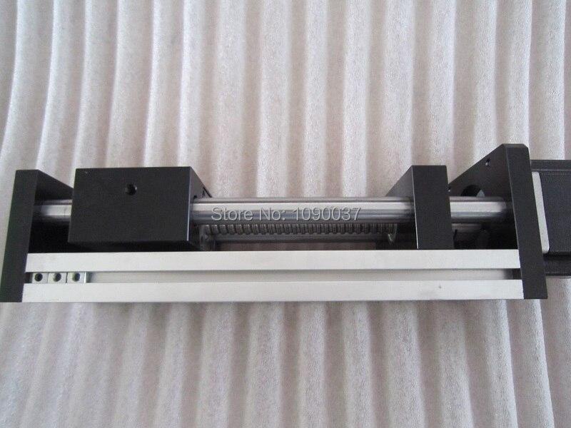 GGP 1605 200mm vis à billes Table coulissante course efficace Rail de guidage axe XYZ mouvement linéaire + 1 pc nema 23 moteur pas à pas - 6