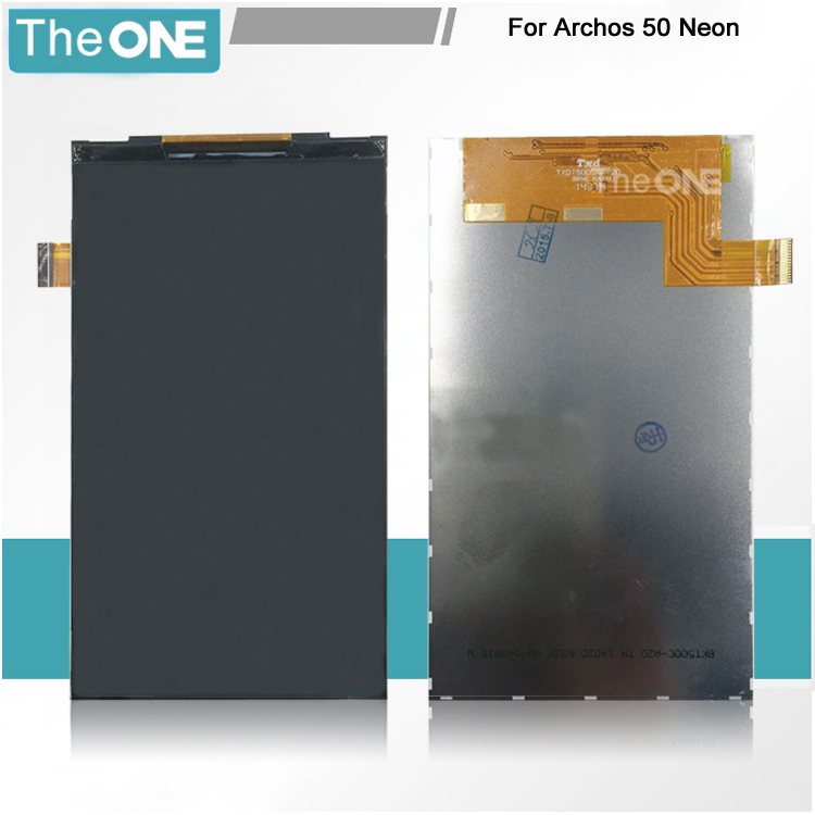 5.0 Only LCD for Archos 50 Neon LCD Display (No Touch Screen Digitizer Mobile Smartphone Replacement Free Shipping