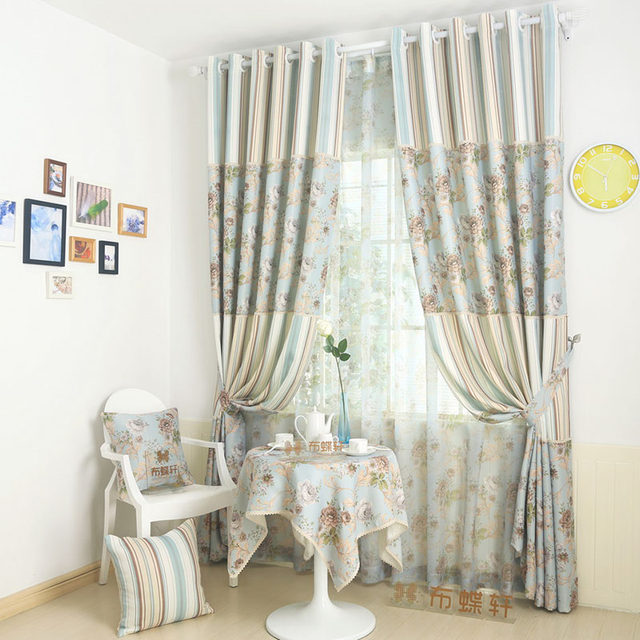 Online Shop Blackout Curtains For Living Room Country Window