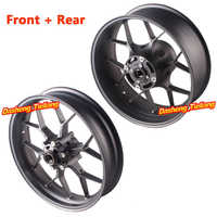 For Honda CBR1000RR Front Rear Wheel Rim Set 2012 2013 2014 2015 2016 CBR 1000 RR Aluminum Motorbike Parts Matte Black