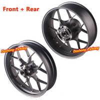 For Honda CBR1000RR Front Rear Wheel Rim Set 2012 2013 2014 2015 2016 CBR 1000 RR Aluminum Motorbike Parts Matte Black