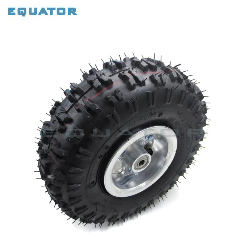 Hart Arbeitend 4,10-4 410-4 4,10x4 410x4 Rad Reifen Reifenfelge Für Off Road Go Kart Spaß Warenkorb Neue Reifen