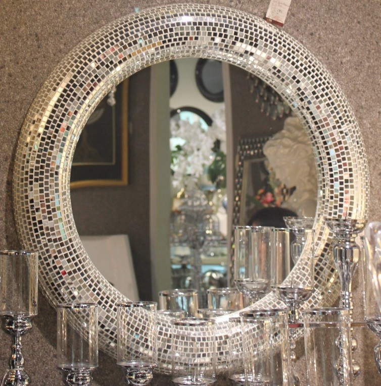 Bathrooom decoration glass mosaic mirror md bm01 entrance for Bedroom wall mirrors for sale