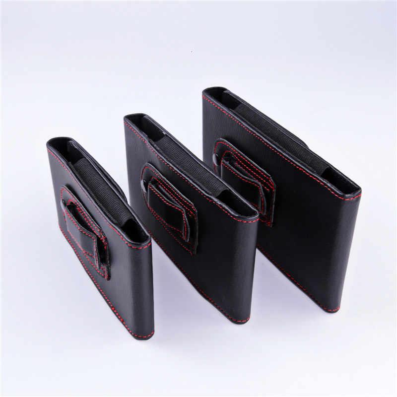 العالمي حزام كليب Lichi محفظة جلدية أكياس الهاتف حالة ل Blackview BV6800 BV9500 BV5800 P10000 BV9000 A20 برو A30 S6 p6000