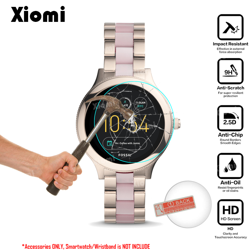 c1dd6450316 Para um Crescimento Inteligente Relógio Fóssil Gen 3 Smartwatch Q Venture  Tampa de Vidro Temperado Película Protetora Protetor de Tela Ultra Clear  Guarda em ...