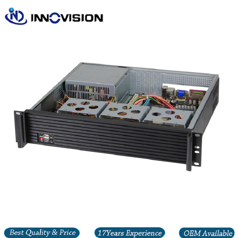 Image 3 - Upscale Al front panel 2u server case RX2400 19inch 2U rack mount chassis-in Industrial Computer & Accessories from Computer & Office