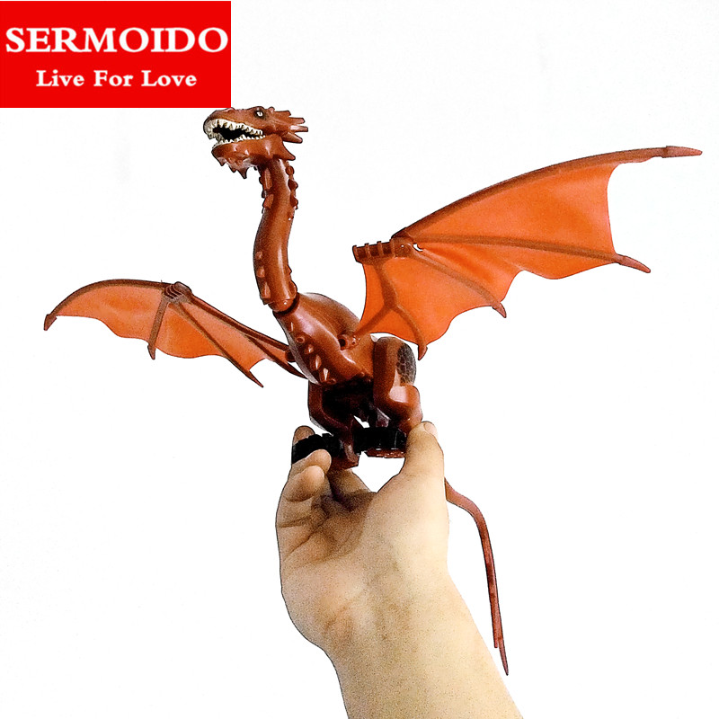 Building Blocks Smaug The Lord of the Rings Hobbit The Lonely Mountain Dol Guldor Battle diy figures Models Bricks Kid Toys B100 hot sale the hobbit lord of the rings mordor orc uruk hai aragorn rohan mirkwood elf building blocks bricks children gift toys