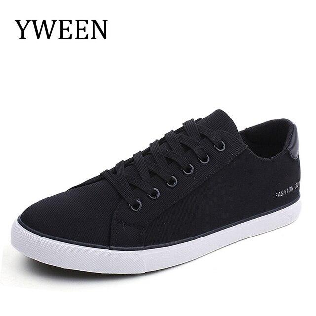 YWEEN Для мужчин; Вулканизированная обувь на шнуровке мужские кроссовки 9908 классический Стиль дышащая холщовая обувь Для мужчин
