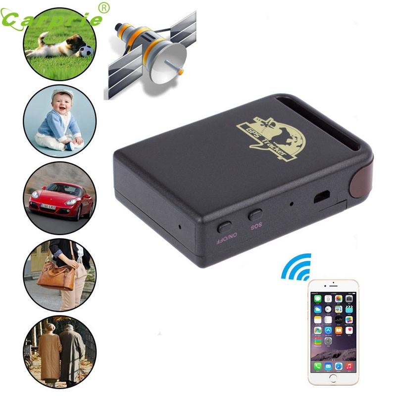 Mini Vehicle GSM GPRS GPS Tracker Car Vehicle Tracking Locator TK102B Jun.20 h06a multi functional gsm gps gprs car vehicle tracker black