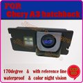 Color CCD HD car vehicle rear view camera parking assist  for Chery A3/ J3/ M11/ Cielo hatchback night vision guide line