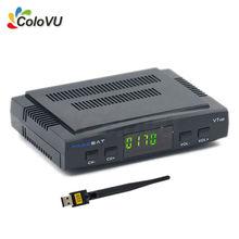TELEVISIÓN Digital Por Satélite Receptor Freesat V7 HD DVB-S/S2 FTA Set Top caja con USB WiFi + Regalo soporte Biss cccam newcamd Powervu