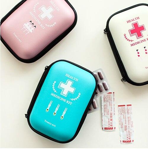 2018 путешествий переносная сумка аптечка аптечке милые удовлетворены hypervenom, органайзер, выживания, упаковка Кубы, vs розовый