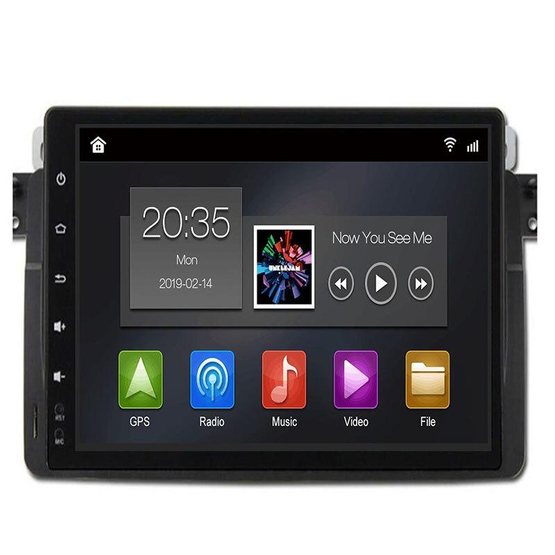 2019 9 ''IPS Radio Android 9.0 lecteur DVD de voiture GPS pour BMW E46 berline/Rover 75 1999 2000 2001 2002 2003 2004 2005/MG ZT