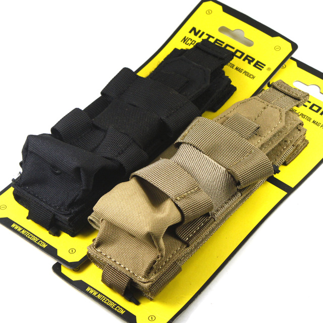1PC Best Price NITECORE NCP40 Tactical Holster Flashlight Holder Bag 1000D Professional Nylon Hunting Equipment Outdoor 2 Colors