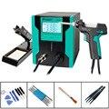 Pro'sKit SS-331H ЖК-цифровой электрический насос для демонтажа  мощный всасывающий пистолет для BGA  отсос для ремонта