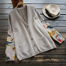 Women Sweater Sweater Loose