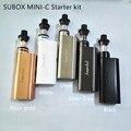 Оригинал Subox Мини C Starter Kit с 50 Вт kbox Kanger мини-c mod и субтанке-c распылитель новые прибыл