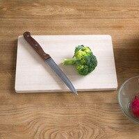 Engrossado casa de madeira sólida tábua de corte tábua de corte de frutas cozinha roll retangular grande placa de corte Cortar Blocos