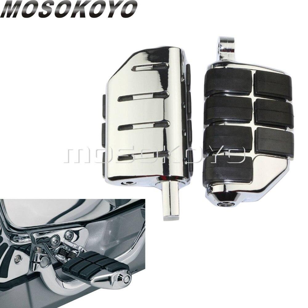 Motorcycle Highway Footpeg Footrests Front Rear Foot Peg For Honda Suzuki Kawasaki Yamaha Custom Street Bike