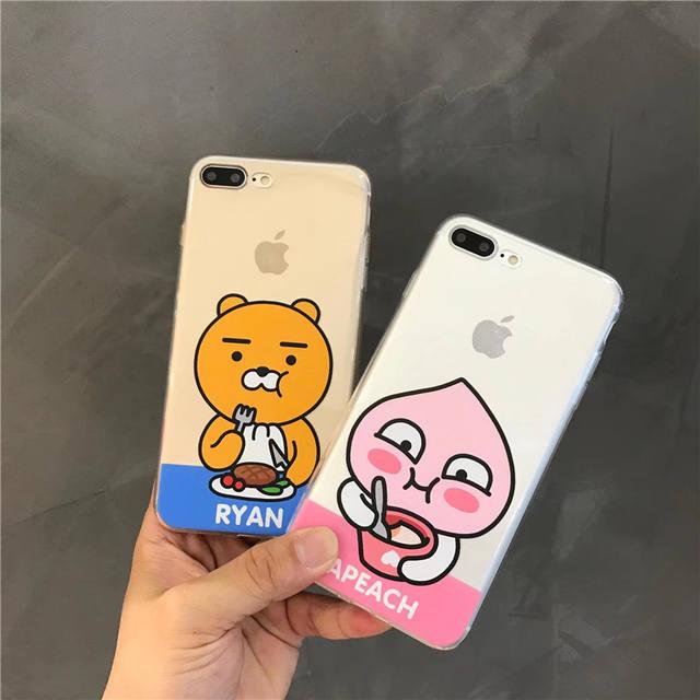 KOREAN CUTE KAKAO FRIEND IPHONE CASE