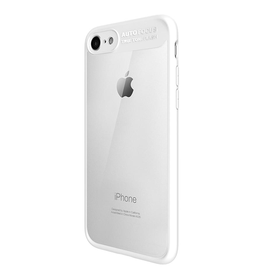 Mcdodo-for-iPhone-6s-Case-Ultra-Slim-TPU-PC-for-iPhone-7-8-Plus-Case-transparent